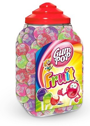 GUM POP FRUIT 18 g