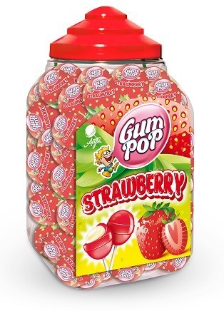GUM POP STRAWBERRY 18 g